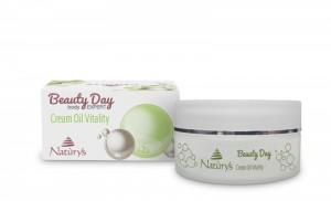 cream oil vitality